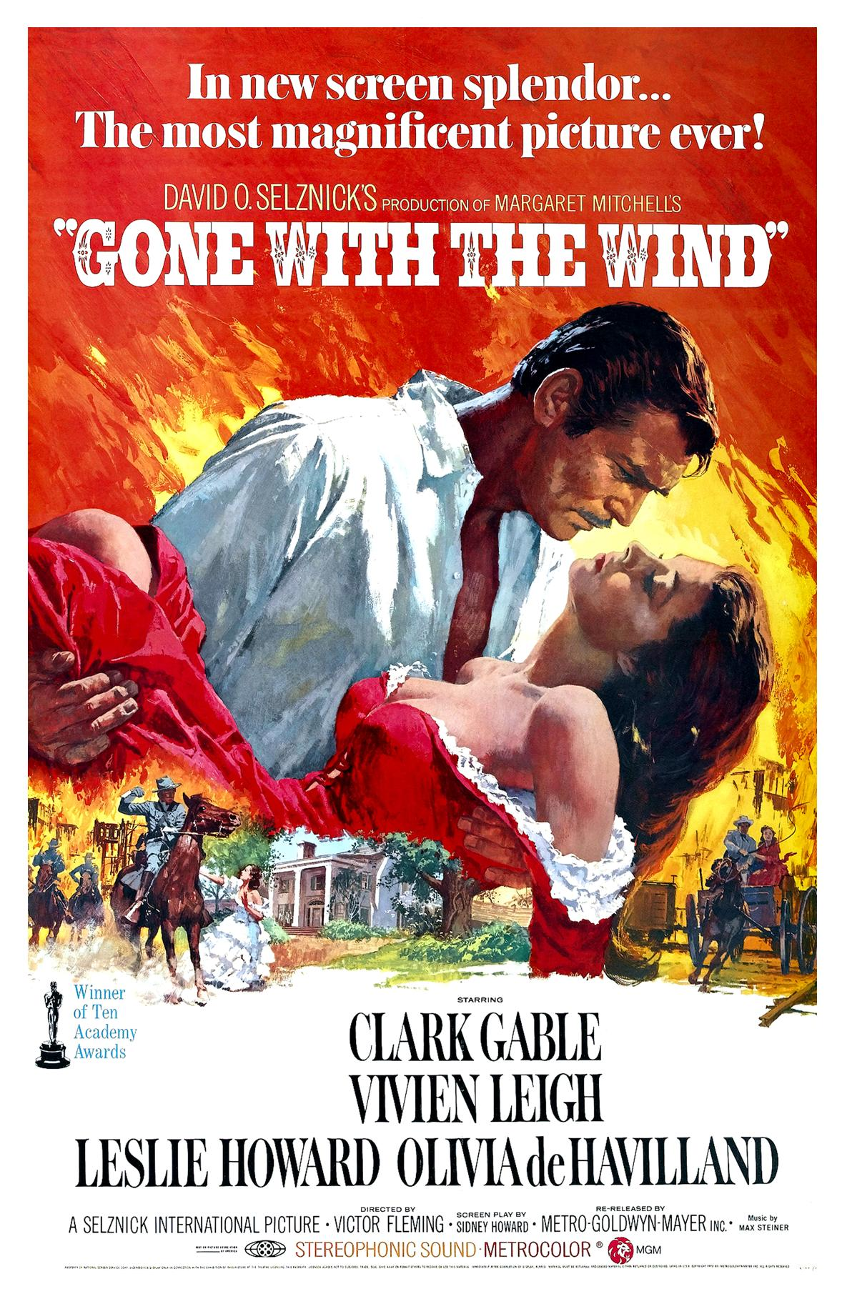 Yes, GONE WITH THE WIND Should be Shelved